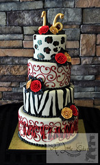 Sweet 16 Birthday Cakes by A Little Cake (A Little Cake) Tags: cakes new jersey sweet 16 birthday grooms cake nj bakeries local