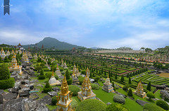 NONG NOOCH (Anirban R) Tags: landscape pattaya thailand garden outdoor nature french nongnooch patterns calm manmade places