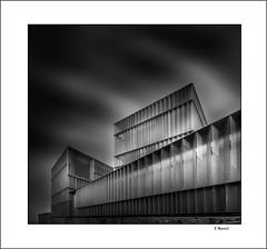 Prismas (tmuriel67) Tags: city light shadows architecture abstract urbanvision geometric minimalism building blackandwhite shade blancoynegro monocromo