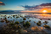 """Evening Sun at Dinas Dinlle • <a style=""""font-size:0.8em;"""" href=""""http://www.flickr.com/photos/52809341@N02/30485047695/"""" target=""""_blank"""">View on Flickr</a>"""