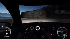The cool morning after a hot night (alexandriabrangwin) Tags: alexandriabrangwin first life 3d cgi computer graphics virtual world forza horizon 3 australia australian beach early morning twilight hot summer night dawn mercedesbenz sl65 amg v12 twin turbo biturbo sand sea shore twelve apostles rock formations beautiful scene postcard looking out window driving behind wheel sticky fingers triplej likeaversion cover song ifyougo thejezabels music festival air balloons