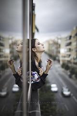 M Cristina... (Ral Barrero fotografa) Tags: girl portrait free window beauty