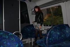 IMG_4708 (Kira Dede, please comment my photos.) Tags: kiradede kirad 2016 crossdresser copenhagen upskirt lingerie stockings ordrupgrd