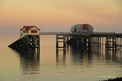 Pier in Pink (anthony.dyke1) Tags: mumbles pier swansea