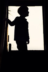 all that potential (Pea Jay How) Tags: child children boy boys family silhouette light dark contrast shadow
