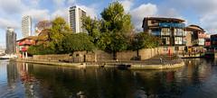 Autumn on the Wharf 13th Nov (36 of 37) (johnlinford) Tags: autumn blackwallbasin canon canonefs1022 canoneos7d docklands e14 landscape london panorama towerhamlets urban urbanautumn