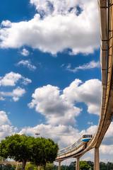Monorail Monday (MattStemerman) Tags: monorail epcot nikon d750 disneyworld waltdisneyworld wdw disney