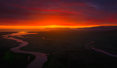 Harmony (willchristiansen) Tags: iceland sunrise explore adventure aerial drone dji inpsire1 pro kirkjufell akureyri sunset midnightsun river