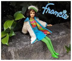 THE COMBINATION (ModBarbieLover) Tags: francie mod 1969 doll mattel tnt barbie
