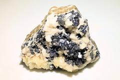Galena, Calcite and Dolomite (Cindy's Here) Tags: dolomite galena calcite minerals crystals rock mineralogy polarismine northwestterritories canada canon macro