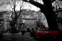 Κοσμας Αρκαδιας/selective color (Love me tender ♪¸.•*´¨´¨*•.♪¸.•*´) Tags: δημητρακυργιαννακη φωτογραφια ελλαδα κοσμασ αρκαδια χψριο παραδοση βορχη δεντρα αρχιεκτονικη χειμωνασ βουνο ομιχλη dimitrakirgiannaki photography greece greek automn rain forest fog arkadia village kosmas 2016 architecture earth track traveling nikond3100 flickr selectivecolors red