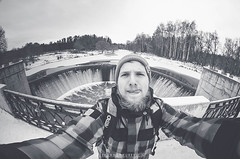 _DSC1711-8 (Aleksandr Yurevich) Tags: people portret hpp volokolamsk bw blackwhite nikon nikond300 nikonrussia nikonphotography samyang8mm 8mm fisheye nitrosnowboards lama selfie