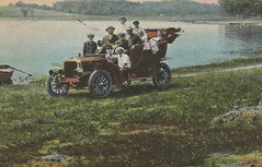 "US IN Valparaiso IN 1910 FLINT LAKE on the Gary & Interurban electric line and on a Macadam Auto Road a Sunday drive or FLINT LAKE SUMMER RESORT VACATION DAYS FAMILY FUN Porter County3 (UpNorth Memories - Donald (Don) Harrison) Tags: vintage antique postcard rppc ""don harrison"" ""upnorth memories"" upnorth memories upnorthmemories michigan history heritage travel tourism ""michigan roadside restaurants cafes motels hotels ""tourist stops"" ""travel trailer parks"" campgrounds cottages cabins ""roadside entertainment"" ""natural wonders"" attractions usa puremichigan "" ""railroad ferry"" ""car excursion"