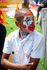 Alton Town Festival (HarveyNewman) Tags: carnival festival black clown face paint kid happy alton uk england hampshire