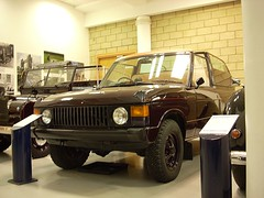 1974 Range Rover Ceremonial vehicle (quicksilver coaches) Tags: rangerover ceremonial heritagemotorcentre gaydon