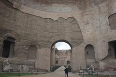 La maestosita delle Terme di Caracalla (marcellabattaglini) Tags: caracalla architecture arte