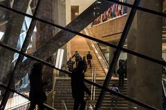 9/11 Museum (wwward0) Tags: 911memorial fidi financialdistrict manhattan museum night nyc people stairs window worldtradecenter