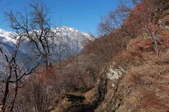 Isrables (bulbocode909) Tags: valais suisse isrables montagnes nature automne arbres paysages bleu neige sentiers