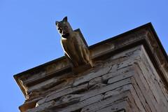 Grgola al claustre de la Seu Vella de Lleida (esta_ahi) Tags: lleida claustre claustro cloister seuvella ri510000156 catedral gtic gtico segri lrida spain espaa  grgola gargoyle