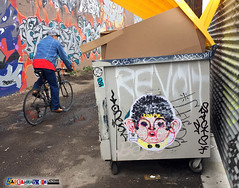 C0rpse wheatpaste Denver (labeauratoire) Tags: denver colorado streetart graffiti denverstreetart streetartdenver wheat paste corpse c0rpse