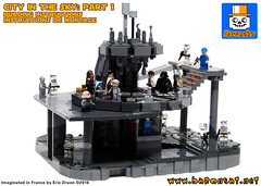 City in the Sky Instructions part 1 (baronsat) Tags: lego bespin cloud city instructions for sale custom model moc
