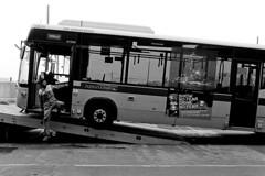 419-BC46/044 (Jock?) Tags: australia victoria melbourne boxhill bus station broken breakdown towtrack flatbed lowloader mechanic dunno is broke nationalbus ventura cb30 metlink photojournalism candid retro vintage kodak hawkeye surveillance film 2485 nikon f100 nikkor 35mmf2ai