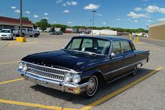 1961 Ford Galaxie (DVS1mn) Tags: black ford sedan 500 galaxie 1961 61 fomoco 4door fordmotorcompany