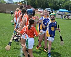 Philadelphia Shamrocks vs. St. Brigid's in camogie at GAA Limerick fields Sunday August 23