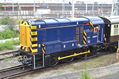 Class 08 Shunter 08507 (Will Swain) Tags: uk travel england west train coast town riviera cheshire diesel britain south north transport rail railway august trains class crewe depot railways 17th 08 shunter 2015 shunting 08507