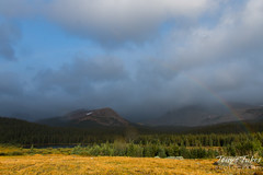 September 7, 2015 - A gorgeous rainbow at Brainard Lake. (Tony's Takes)