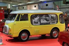 ALFA ROMEO Romeo 2 (xavnco2) Tags: auto france classic yellow jaune retro rouen moto vehicle salon normandie van alfaromeo normandy 2015 seinemaritime camionnette vitre romeo2