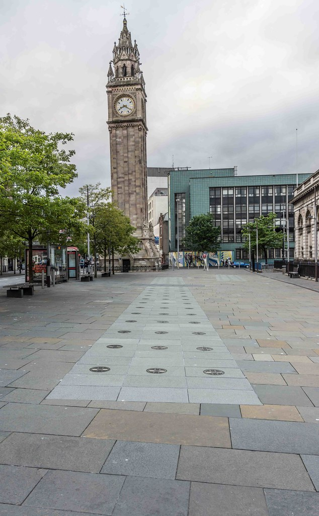 ALBERT MEMORIAL CLOCK [BELFAST'S ANSWER TO THE LEANING TOWER]-108819