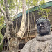 Statue of Hemingway outside the bullring at Pamplona