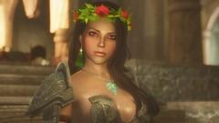 Sibyl (Aendova) Tags: games videogames gaming armor elder crown earrings bethesda mods scrolls skyrim tesv