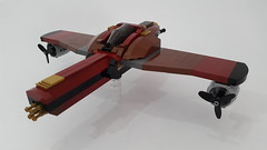 Garuda (Hendri Kamaluddin) Tags: sky plane airplane lego aircraft airship airforce squadron moc fighterplane skyfi fantasyplane victorysquadron