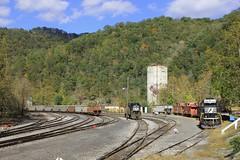 Timeless... (locoslides.com) Tags: west yard virginia ns wv coal appalachia 3528 wilcoe