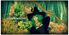 Witchy Witchy! (Flawless Developments) Tags: life new game halloween photography photo blog video wolf good free games blogger avatars virtual second reality celtic something immortal edit subscriber developments subscribe edits morticia flawless gacha magika khayman quiggles