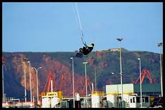 KiteSurf Arbeyal 14-10-2015 (LOT_) Tags: kite switch spain waves gijón lot asturias kiteboarding kitesurf jumps kitesurfmagazine kitespain switchkites mjcomp2 ©lot