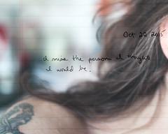 295.365 (sadandbeautiful (Sarah)) Tags: woman selfportrait me composite female writing self 365 layered day295 365days 365daysx6