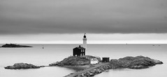 Fisgard Lighthouse (James McBean Photography) Tags: ocean lighthouse seascape water landscape britishcolumbia victoria vancouverisland colwood fisgardlighthouse fortroddhill jamesmcbean jimmcbean