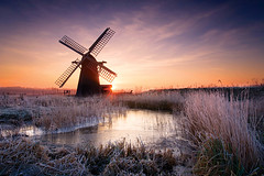 Not my photo (emalee.medinaa) Tags: uk winter england sky white mist holiday black reflection mill tourism ice reed water windmill misty sunrise reflections river reeds landscape photography dawn frozen suffolk scenery holidays frost peace photographer estate with calendar image britain dusk path hoarfrost united feel great norfolk sails picture dramatic peaceful kingdom scene east card photograph grasses habitat fen moods tranquil fenland frosted pictorial drainage hoar anglia broads windpump somerleyton hoare herringfleet hoarefrost hoarfrosted hoarefrosted