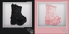 BLACK IS SOLD OUT! *Epic LIMITED EDITION* Sweet.Mech Boots! {Black & Baby.Pink} Ad (Jade Winthorpe ()) Tags: life anime cute mesh manga sl secondlife kawaii second gears epic limitededition bows belleza pinkboots mech steampunk stompers cuteshoes animecosplay blackboots maitreya slink creepycute cuteboots cutefashion cuteaccessories kawaiifashion cyberboots mangacosplay epicboots creepykawaii kawaiiaccessories kawaiishoes epicshoes pastelgoth kawaiiboots secondlifecosplay slinkphysique bellezameshbody maitreyameshbody creepycutefashion pastelgothfashion creepycuteaccessories pastelgothaccessories kawaiiplatformshoes pastelgothshoes bowboots mechboots kawaiiplatformboots pastelgothboots bootswithbows