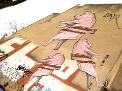 Razorback (MathiasRomero) Tags: argentina mural buenos aires cerdos
