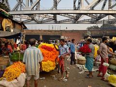 Flower market-kolkata (mariya_ka) Tags: november flowers india town kolkata flowermarket