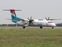 LX-LGG DHC-8-402Q (Irish251) Tags: ireland dublin airport dub luxair q400 eidw lxlgg