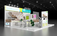 Exhibition Stand Design For Trade Fair