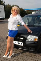 Tinaauto4b (Tinaturtle27) Tags: crossdresser transvestite pantyhose