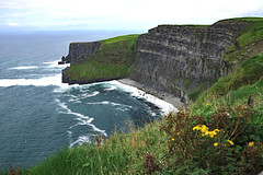 More Moher (jameskirchner15) Tags: limestone lowercarboniferous formations landform cliffsofmoher countyclare ireland ocean