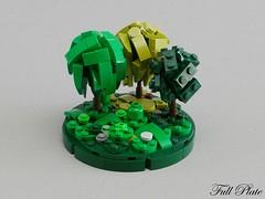 Micro Seasons - Summer (Emil Lid) Tags: lego moc micro season tree summer