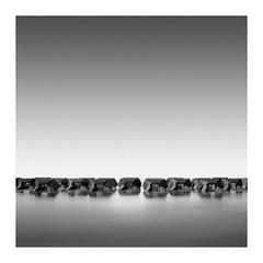 Now U see Them (Knightly iMages) Tags: fineart square squareformat groynes newbrighton seascape longexposure rocks